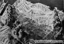 Авианалет немецких бомбардировщиков