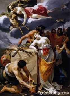 Франсуа Перье. Принесение Ифигении в жертву. 1632-1633
