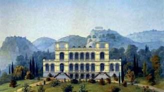 Строительство дворца в Ореанде