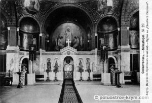 Интерьер храма святого Николая в Севастополе. Фото из архива