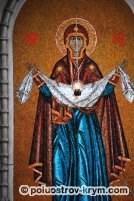 Икона Покрова Пресвятой Божией Матери. Покровский собор. Севастополь. Фото Ольги Иутиной