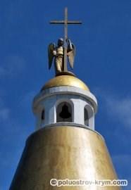 Крест на храме-часовне на Сапун-горе. Автор фото Ольга Иутина
