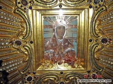 Крымская икона Божьей Матери «Скорбящая». Фото с сайта http://www.palomnik.crimea.ua